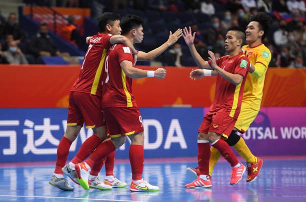Các tuyển thủ futsal Việt Nam có thể ngẩng cao đầu chia tay giải.