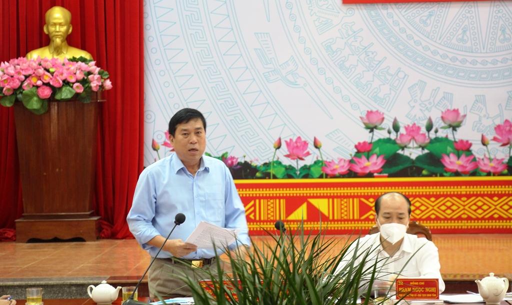 Bí thư Huyện ủy Krông Ana