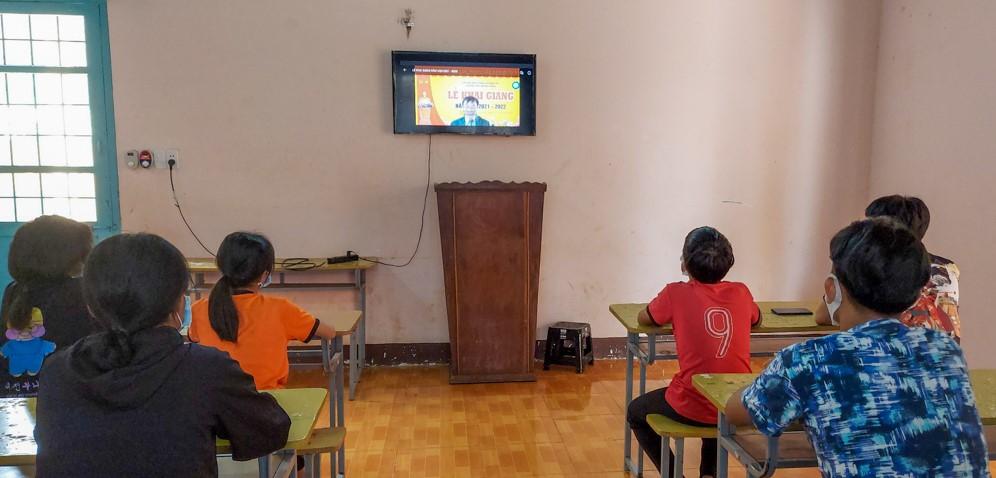Học sinh Trung tâm Hỗ trợ