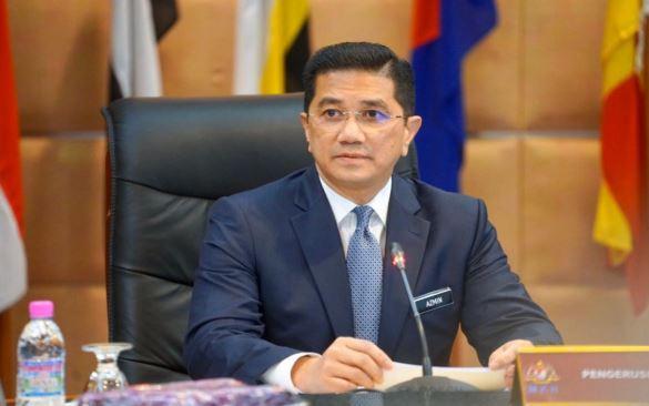 Bộ trưởng Mohamed Azmin Ali. (Nguồn: bernama.com)